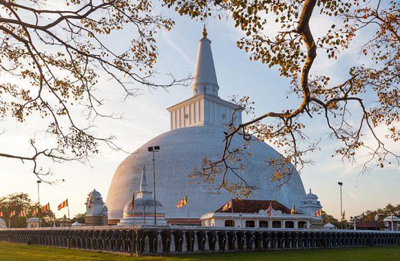 Mahatupa big Dagoba in Anuradhapura