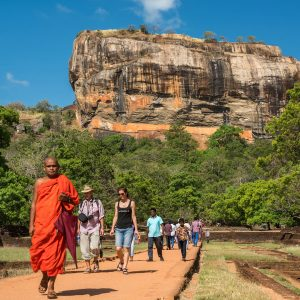 Sigiriya The lion Rock