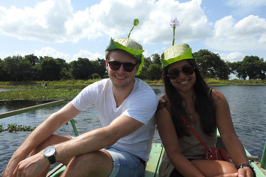Habarana boat tour