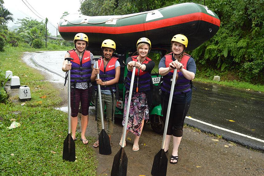 white rafting srilanka